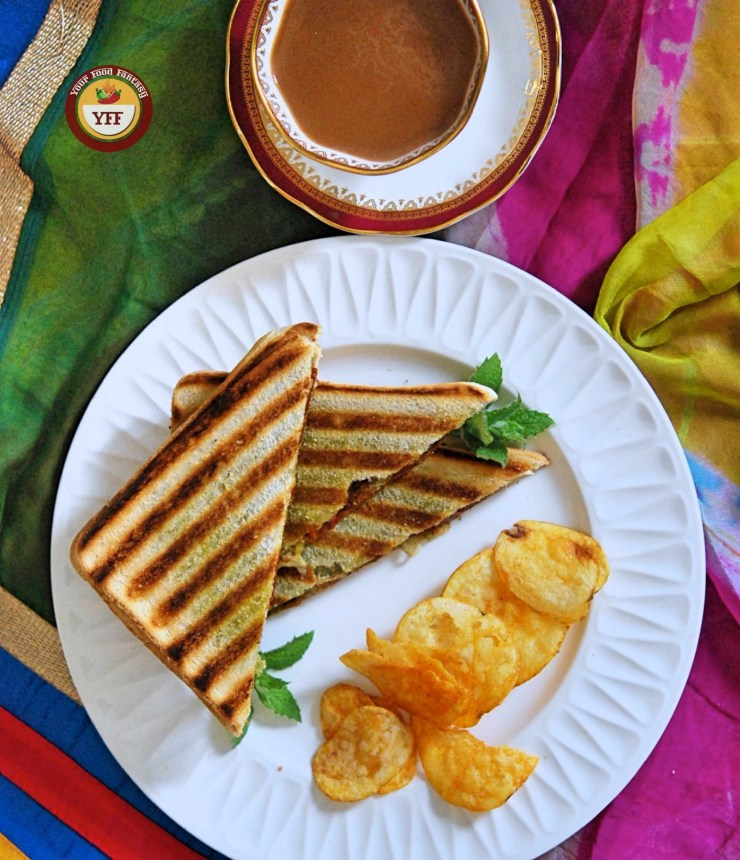 Sundried Tomatoes and Cheese Grilled Sandwich | Your Food Fantasy