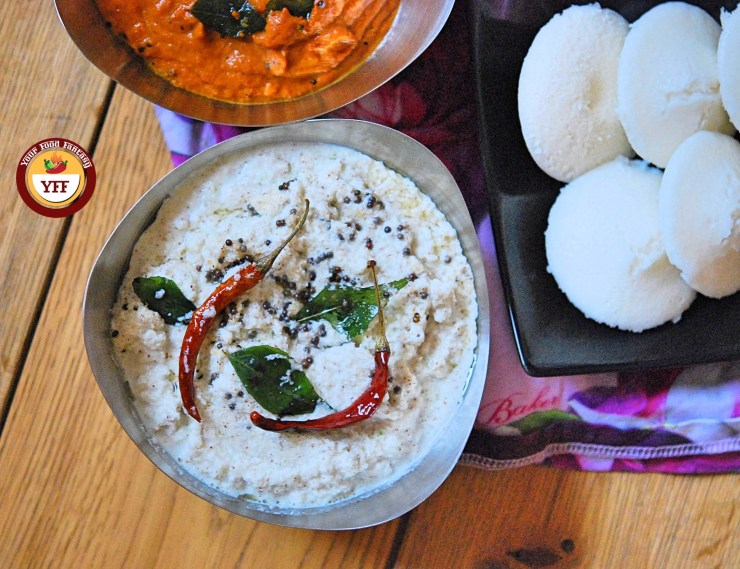 South Indian Coconut Chutney | YourFoodFantasy.com