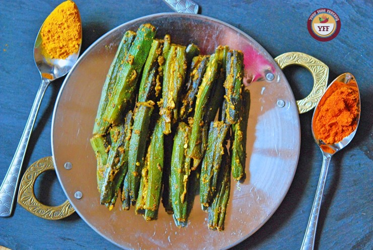 Bharwa Bhindi Masala | Stuffed Okra Recipe | Your Food Fantasy