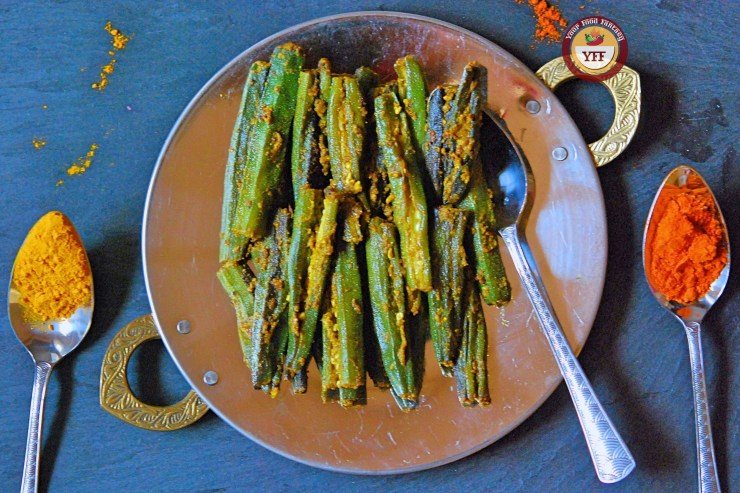 Bharwa Bhindi | Stuffed Okra Recipe | Your Food Fantasy