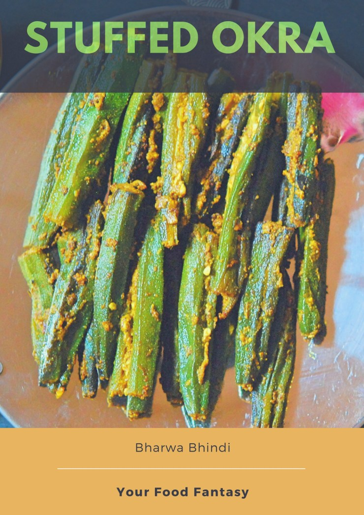 Bharwa Bhindi Recipe | Stuffed Okra Recipe