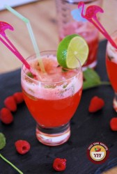 Raspberry Mojito Mocktail | Your Food Fantasy