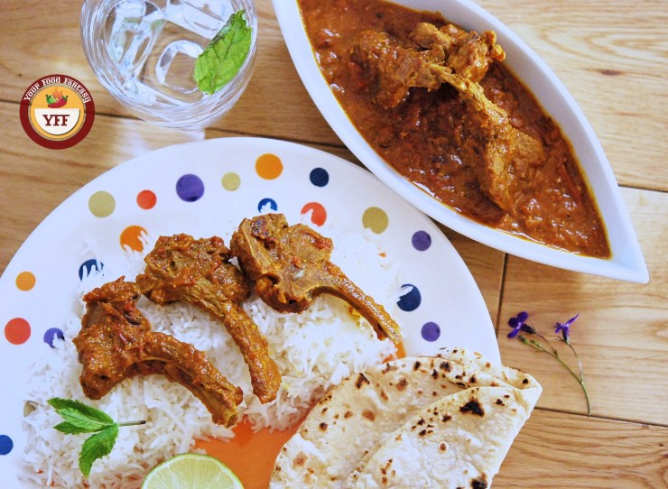 Lamb Chops Curry - Lamb Recipe   Your Food Fantasy