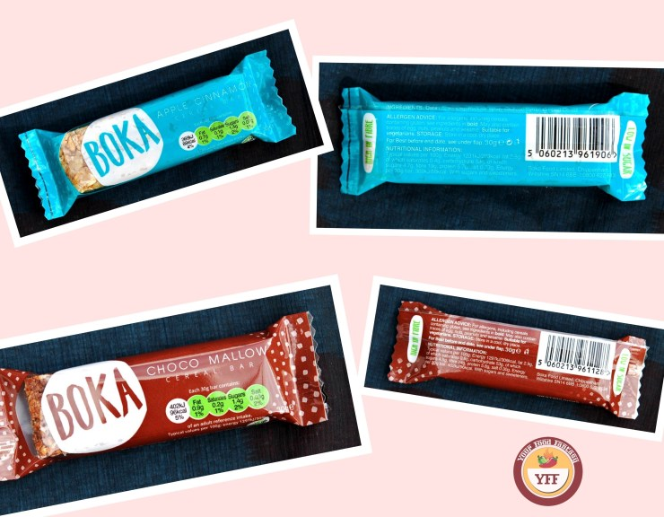 Degustabox August Review - Boka Cereal bars