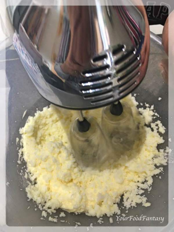 Beating Butter | Orange Cake Recipe
