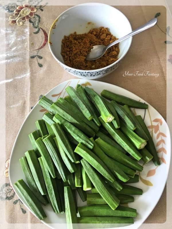 Bharwa Bhindi - How to make