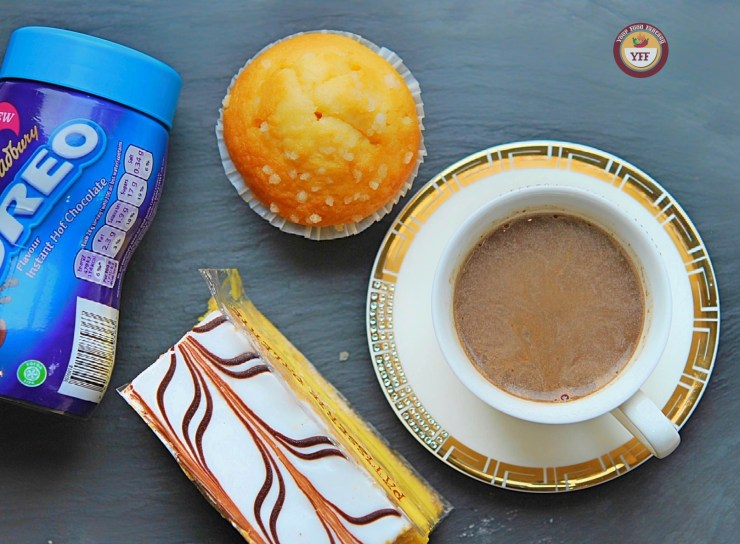 Cadbury Oreo Hot Chocolate Review | Degustabox September Review by Your Food Fantasy