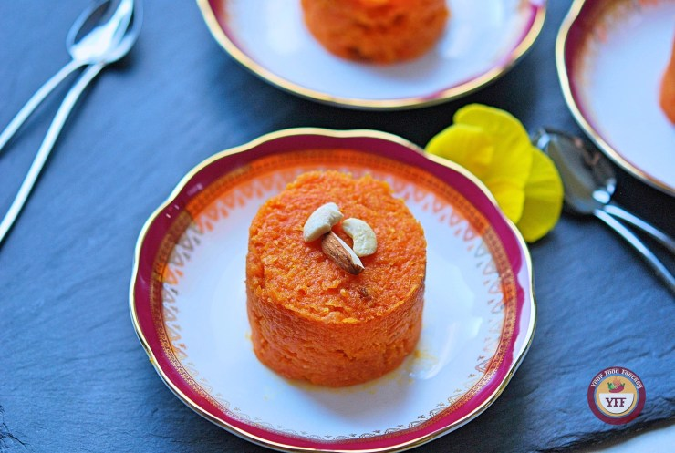 Gajar Ka Halwa | Traditional Indian Carrot Pudding Recipe | YourFoodFantasy.com