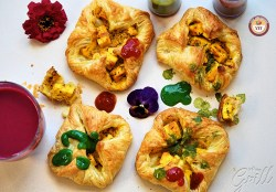Paneer Tikka Puff Pockets | Paneer Tikka Parcels | Your Food Fantasy