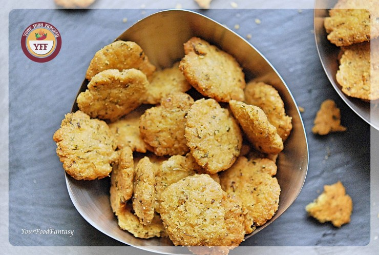 Crispy Mathri Recipe | YourFoodFantasy.com by Meenu Gupta