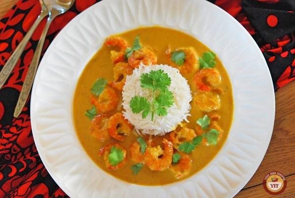 Malai Prawn Curry | Easy Prawn Recipe | Your Food Fantasy