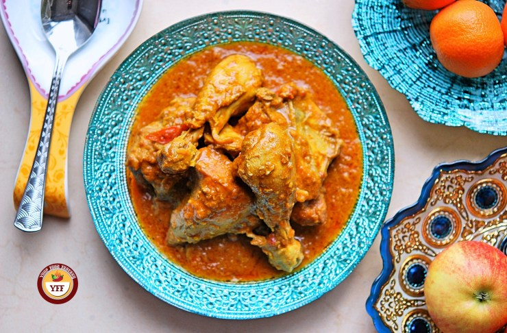 Chicken Korma Recipe | Keto Diet | YourFoodFantasy.com