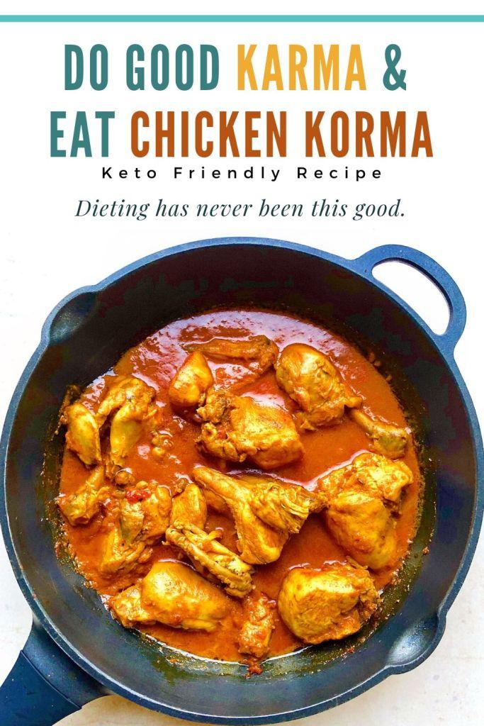 Keto Chicken Korma Recipe | Your Food Fantasy