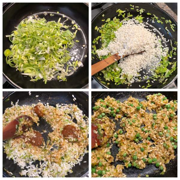 How to Make Vegan Leek and Pea Aranchini | Leek Vegan Recipe | Your Food Fantasy