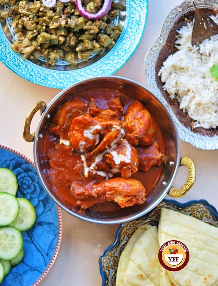 Ghee Roast Tandoori Chicken | Chicken Recipes | YourFoodFantasy.com