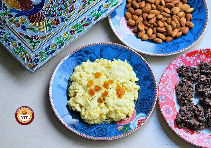 How to make Instant Mava - Khoya using milk powder | Your Food Fantasy