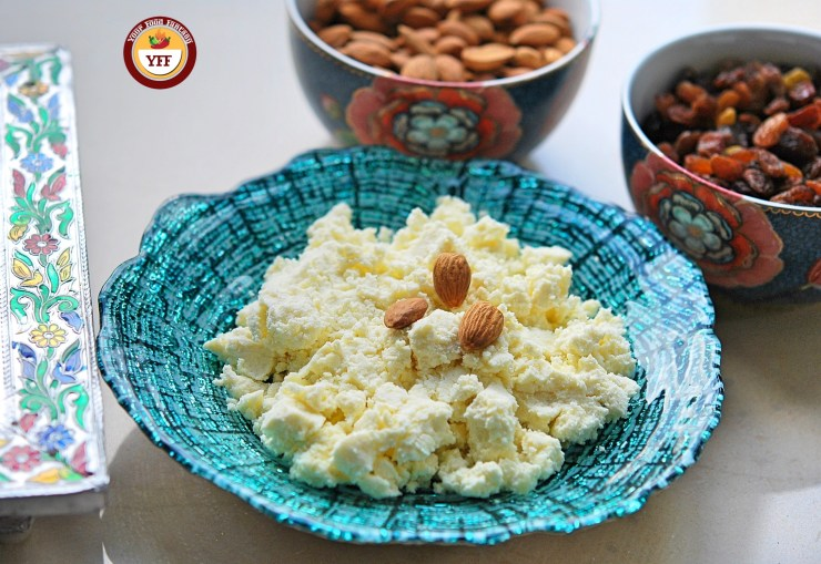 Instant Mawa Recipe using Ricotta Cheese| YourFoodFantasy.com