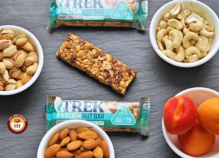 Trek Protein Bar Review by Your Food Fantasy