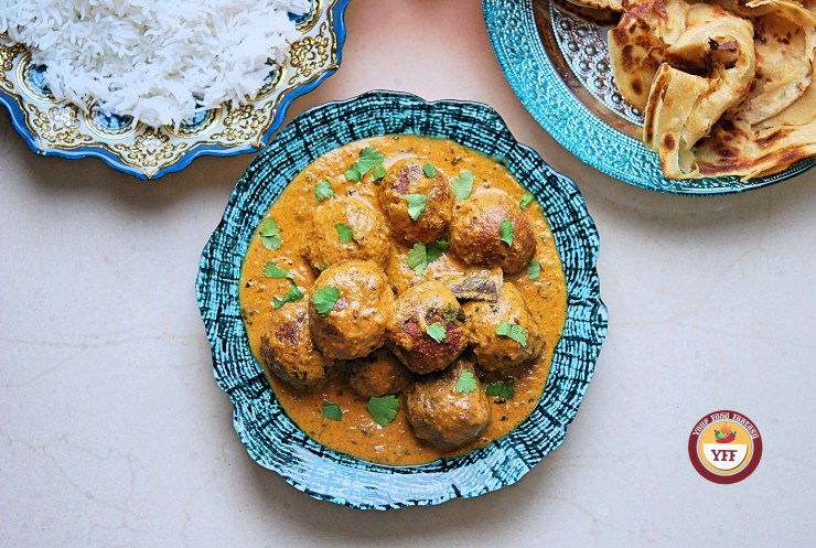 Cabbage Kofta Curry Recipe - Your Food Fantasy
