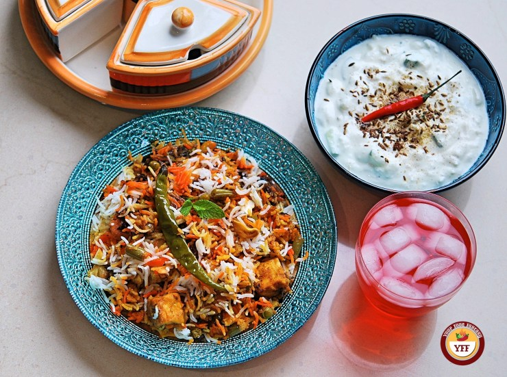 Homemade Vegetable Biryani - Your Food Fantasy