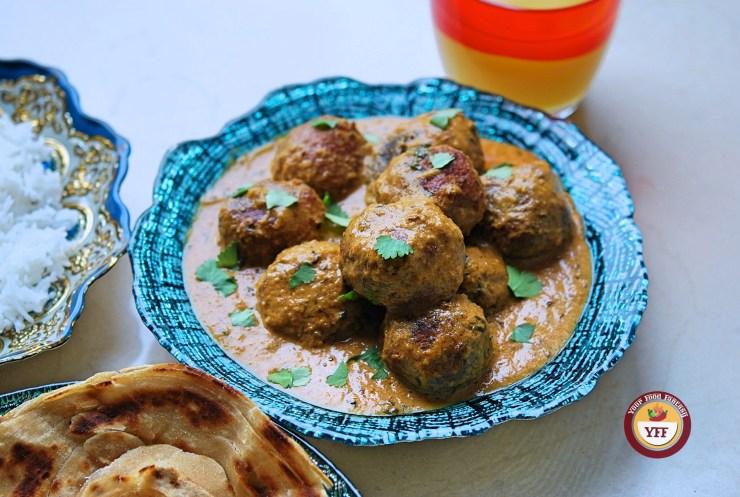 Kofta Curry - Cabbage Kofta Curry - Your Food Fantasy
