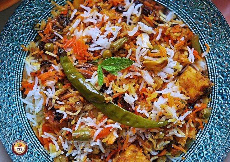 Veg Dum Biryani - Authentic Recipe - Your Food Fantasy