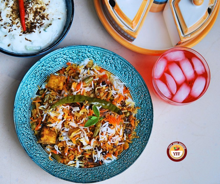 Vegetable Biryani Recipe - YourFoodFantasy.com