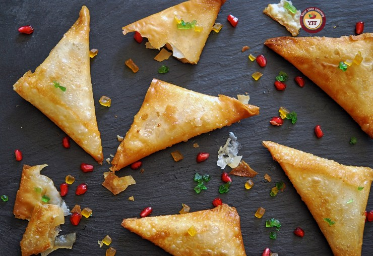 Apple Pie Samosa - Apple Recipes | Your Food Fantasy