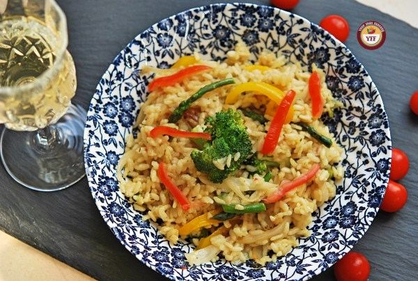 Vegetarian Risotto - How to make | YourFoodFantasy.com