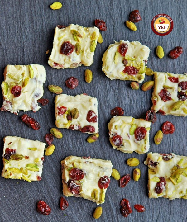 Cranberry Chocolate Fudge | Your Food Fantasy