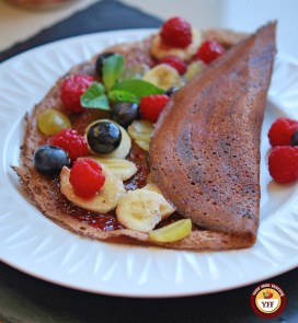 Fruity Chocolate Dosa Crepes Recipe   Your Food Fantasy