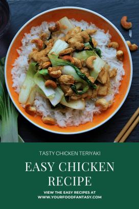 Tasty Chicken Teriyaki Recipe - Hello Fresh Style | Your Food Fantasy