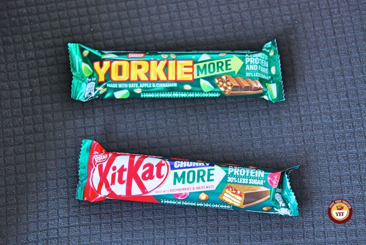 Kitkat Chunky More & Yorkie more Bar review | Your Food Fantasy