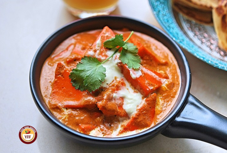 Paneer Butter Masala Recipe - YourFoodFantasy.com