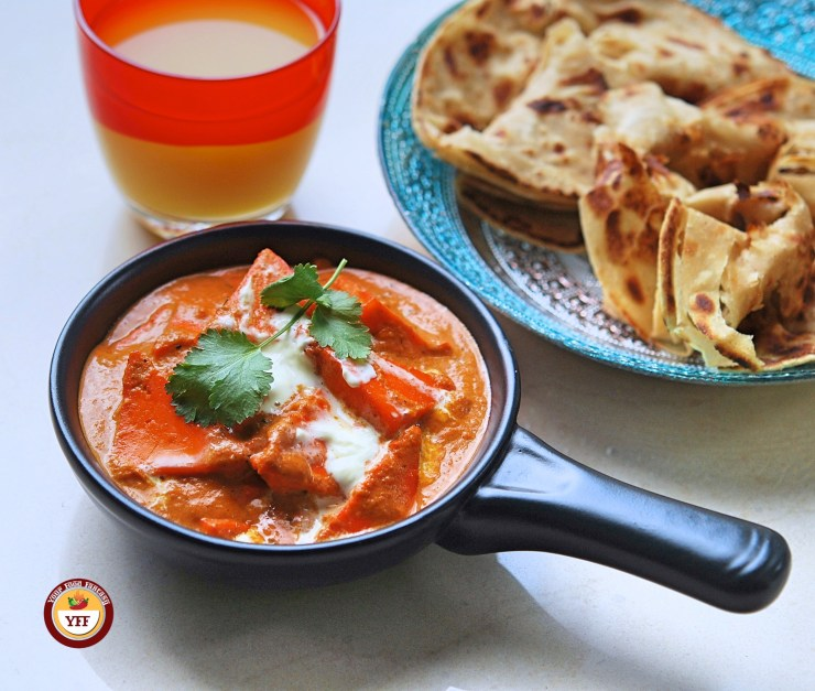 Paneer Makhni - Paneer Butter Masala Recipe - Your Food Fantasy