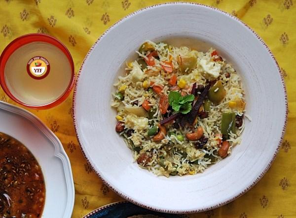 Navratan Pulao Recipe   Your Food Fantasy
