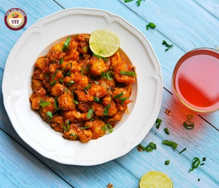 Dry Gobi Manchurian Recipe | Your Food Fantasy