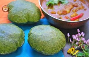 Spinach - Palak Poori   Your Food Fantasy