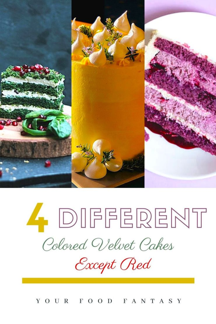 Different Velvet Cakes | Your Food Fantasy