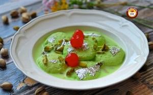 Pista Rasmalai Recipe | Your Food Fantasy