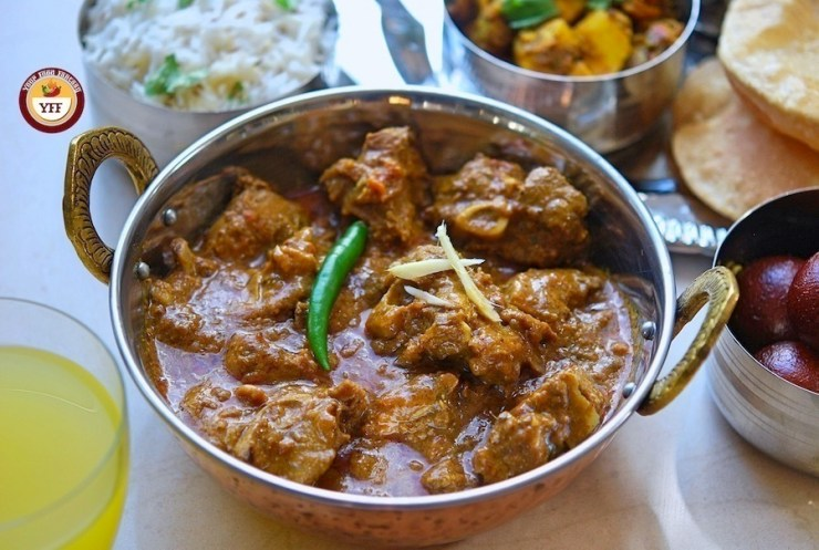 Bhuna Gosht - Bhuna Mutton Recipe | Your Food Fantasy
