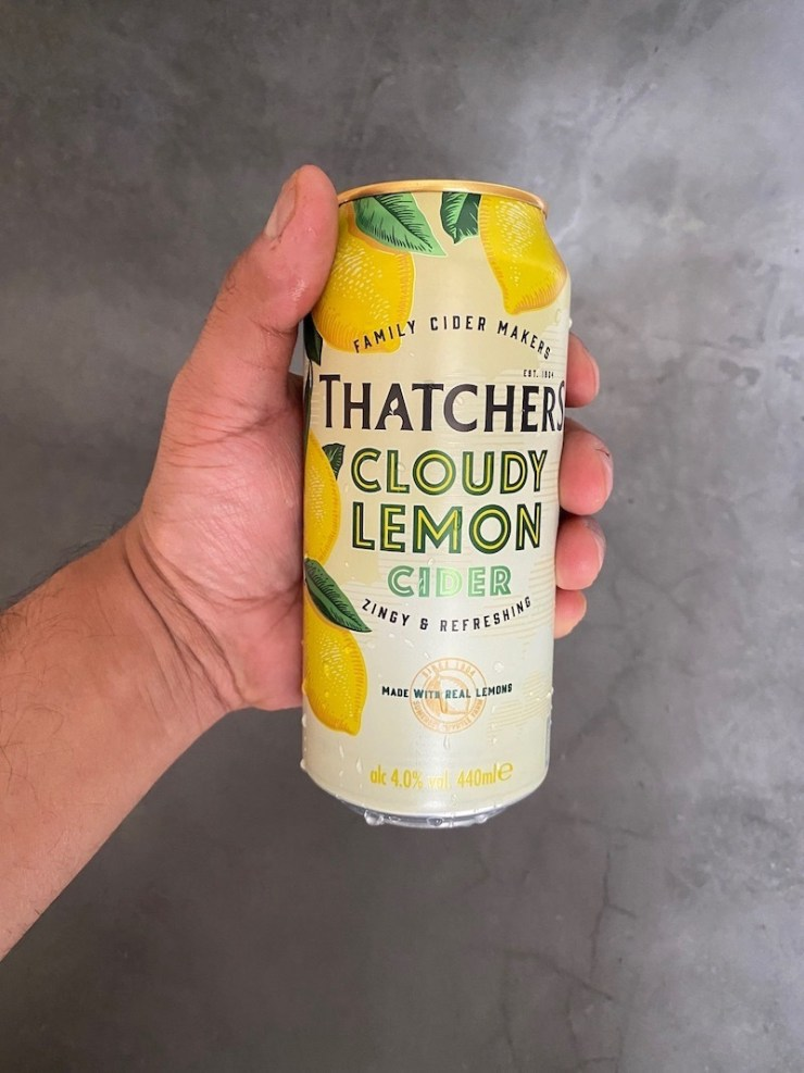Thatchers Cloudy Lemon | Your Food Fantasy