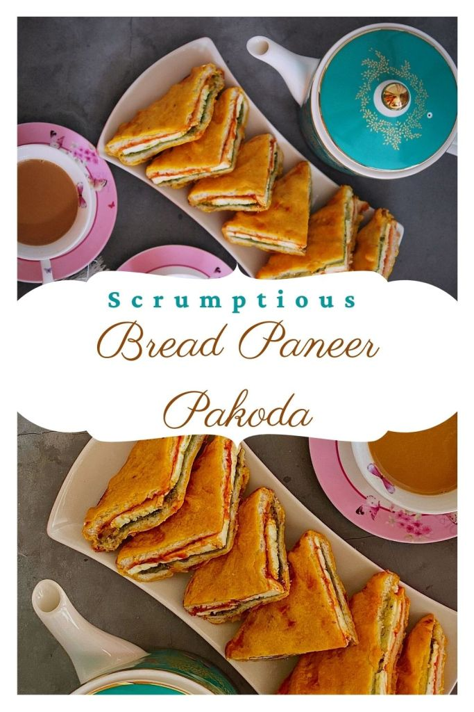 Bread Sandwich Paneer Pakoda Recipe
