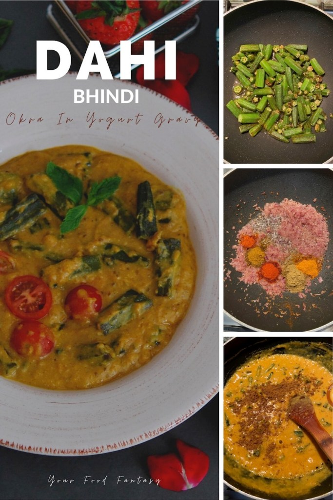 How to make dahi wali bhindi - okra recipes