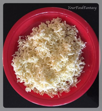 grated cottage cheese for paneer potato cutlet   yourfoodfantasy