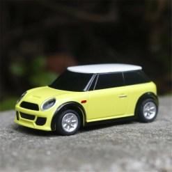 Turbo Racing 1/76 mini car,light yellow middle