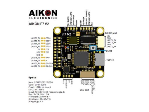 Aikon F7 HD V2 30×30