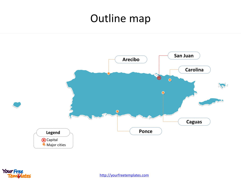 Blank Map Usa States