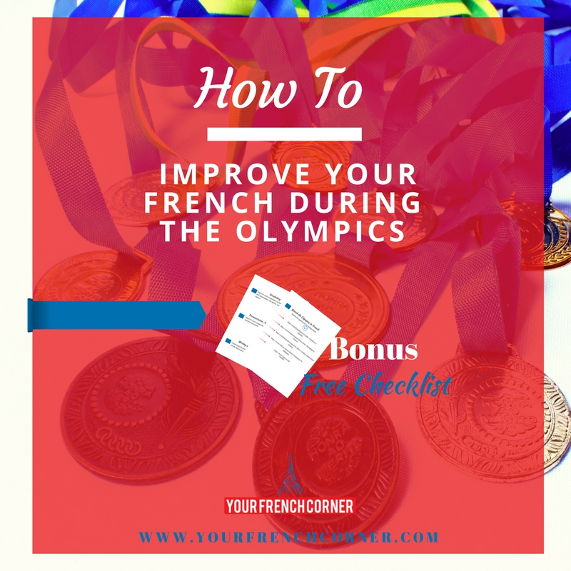 How To Improve Your French During The Olympics