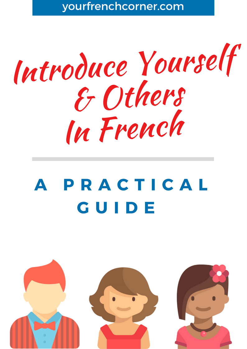 How to Describe Yourself in French: 9 Steps (with Pictures)